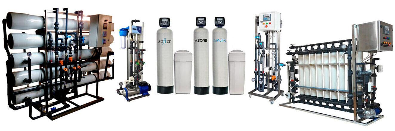 Возможные системы водоочистки(фильтрации) применяемые при водоподготовке воды из скважины